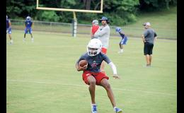 The Riverside football team will welcome a lot of new faces on offense this fall.