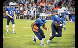 The Rebels were outplayed in the second half on Friday, falling to Dorman, 45-31.