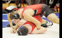 Blue Ridge's Shayne van Wettering won the 182-pound weight class title at the Greenville County championships over the weekend.