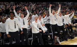 The Wofford men's basketball team celebrated its NCAA Tournament selection on Sunday. The 7th-seeded Terriers will take on Seton Hall in Jacksonville, Florida on Thursday.