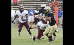 Adrian McGee and the Yellow Jacket offense will take on Clinton Friday on the road.