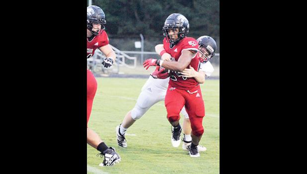 Blue Ridge was bested by Class AAA powerhouse Chapman on the road last Friday.