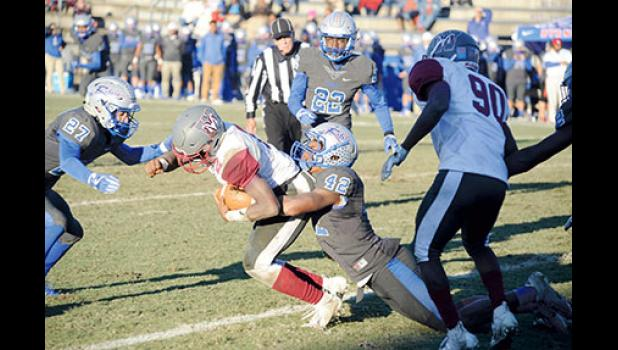 Byrnes did not have much trouble disposing of Westside last Saturday, ousting the Rams 57-14 at Nixon Field.