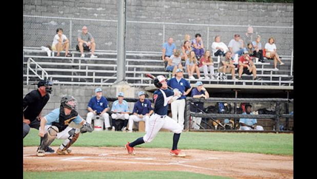 The Greer American Legion Post 115 senior team got a game one win over Chapin-Newberry Monday night.