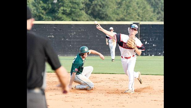The Greer senior legion team opened postseason play against Williamston this week, ranked No. 6 in the coaches poll.
