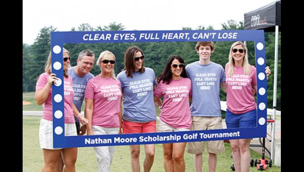 Local golfers participated in the second annual Nathan Moore Scholarship Golf Tournament last Saturday at Greer Country Club. The event is held in memory of a Greer High student who passed away suddenly in 2016.
