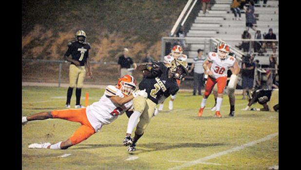 Greer couldn't escape Mauldin last Friday at Dooley Field, dropping its third game to a Class AAAAA opponent.