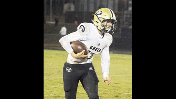 Hollis Crosby led Greer to a 21-14 win over South Pointe last Friday in Rock Hill.