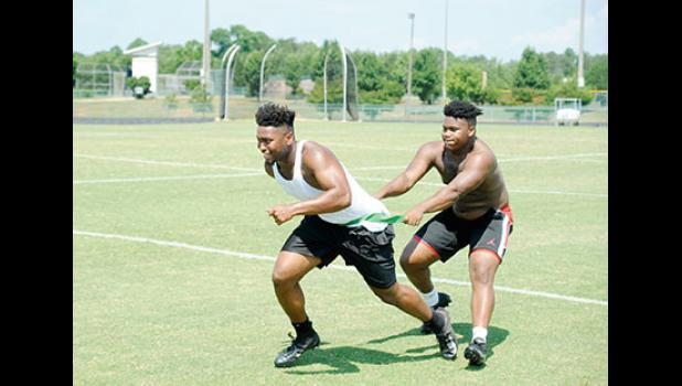 The Yellow Jackets are spending four days a week on strength and conditioning this summer, hoping to defend their 2018 Upper State Championship.