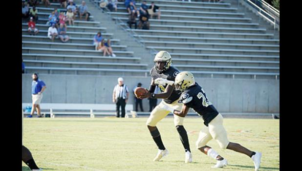 Greer will look to its backfield for production as the Jackets travel to Westside Friday.