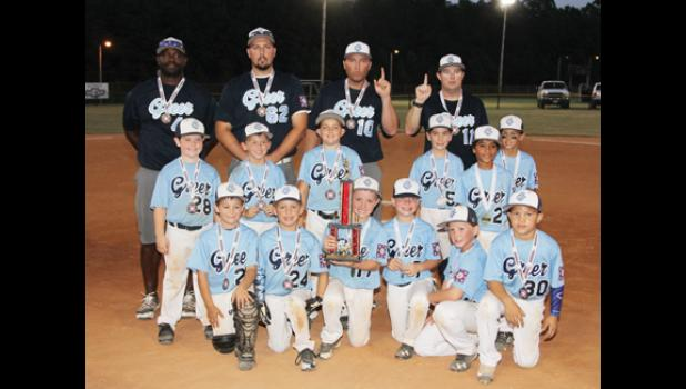The GBC National 8U claimed the Dixie Youth District Championship last week in Seneca. With the win, the all-stars advance to the state tournament in July.