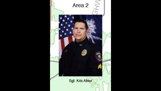 Sgt. Kris Ahler - Area 2