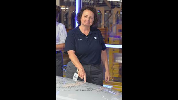 Greer native Andrea Howell was one of the first 600 employees hired at BMW's Greer plant.