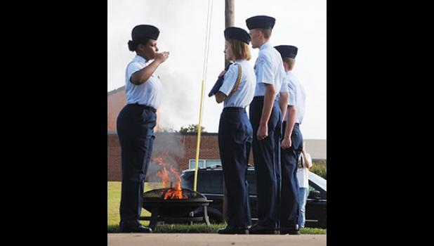 Byrnes Freshman Academy hosted a 9-11 Remembrance Ceremony on Tuesday.