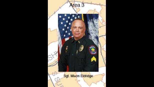 Sgt. Mixon Eldridge - Area 3