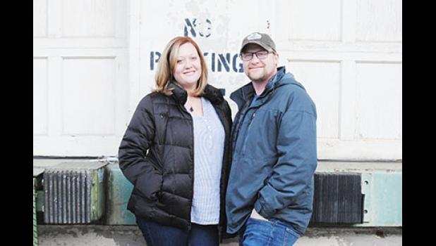 Cristy Biles and Michael Marut are working to open the new restaurant Farehouse at Taylors Mill by April.