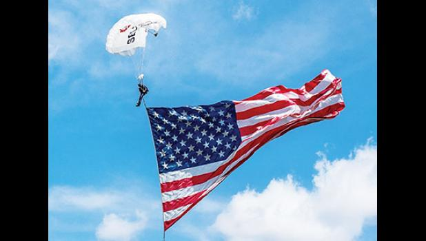 A skydiving demonstration is planned for this year's Freedom Blast festival on June 30.
