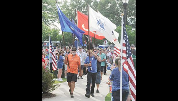 A patriotic parade will honor local veterans during this year's Freedom Blast, which includes a professional parachute demonstration team, live music and fireworks.