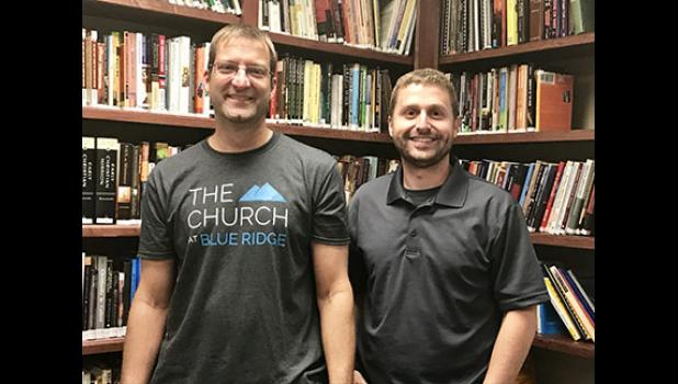 Ted Richard, left, and Robert McKinney will lead The Church at Blue Ridge.