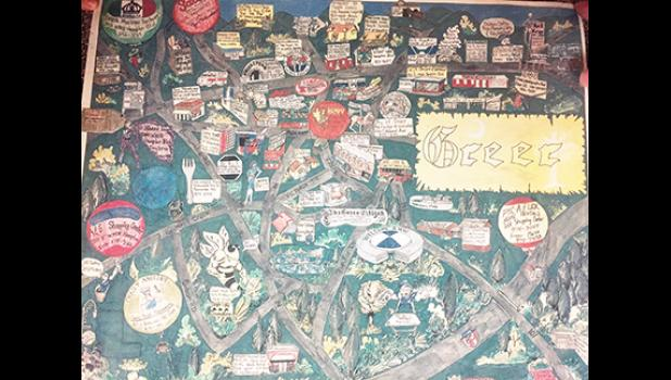Albert's Cartoon Maps will be printing a new map for Greer in the spring. This one was done in 1993.