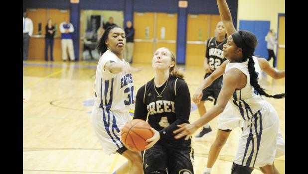 Greer outlasted Eastside on the road last Thursday during a 56-49 win. It was the Yellow Jackets' first win over the Eagles in 10 tries.