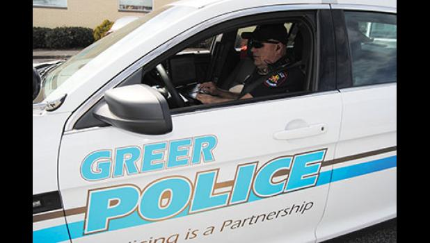 The Greer Police Department is currently searching for more long-term officers, such as Sgt. Randle Ballenger, pictured above.