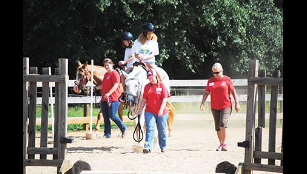 Hope Remains Ranch in Wellford has provided therapy through the services of 15 different horses over the past ten years.