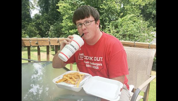 Upstate resident Daniel McGaha has visited 103 Cook Out locations, and he's not planning to stop anytime soon.