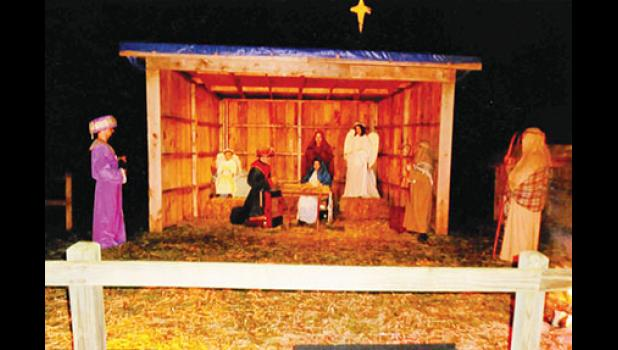 Redeemer Lutheran Church, located at 300 O'Neal Road, will host its Live Nativity this weekend, Dec. 16-17, from 6:30-9 p.m. for visitors.