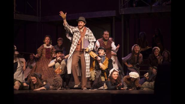 The Academy of Arts' annual production of 'Silent Star' has grown into a full-scale musical with a redesigned set. It will be showing on Dec. 11.