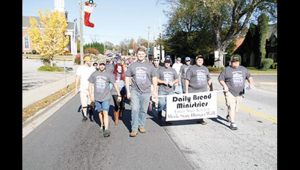 The annual Merle State Hunger Walk will take place this Sunday from 1-4 p.m.