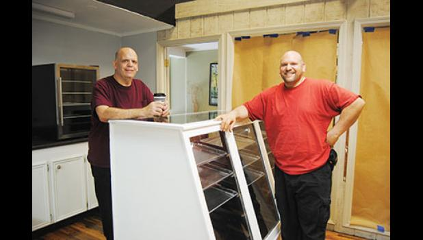 Two brothers, Rob and Anthony Mazzitelli, are working to bring a New York deli sandwich to Trade Street in Greer.