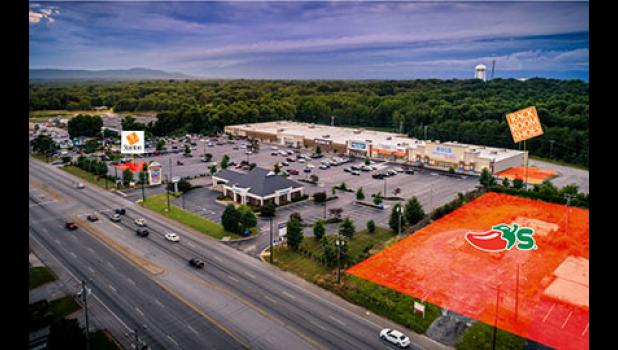This graphic shows the location of three new businesses in Greer's Piedmont Plaza.