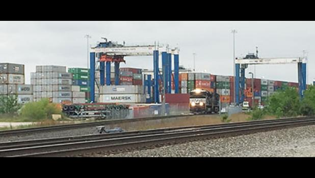 Inland Port Greer will add rail processing and storage tracks, along with new facilities for terminal operations.