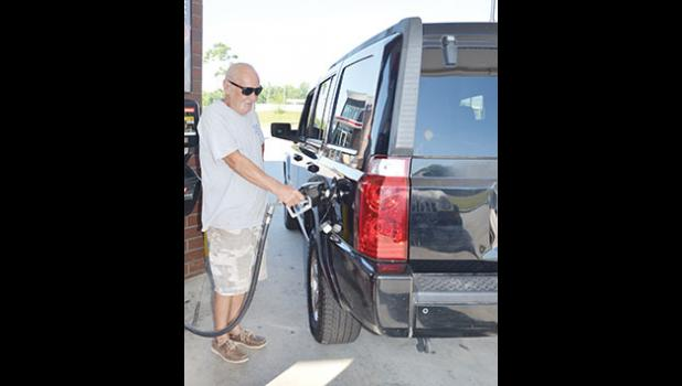 Will Harris of Greenville expressed favor for the gas tax hike if local roads are improved. The increase will amount to 12 cents after six years.