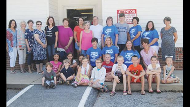 Parents, teachers and community volunteers delivered the final Lunch Buddies meal of the summer last Friday.