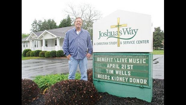 Joshua's Way is hosting a benefit for Greer native Tim Wells, who designed the organization's logo.