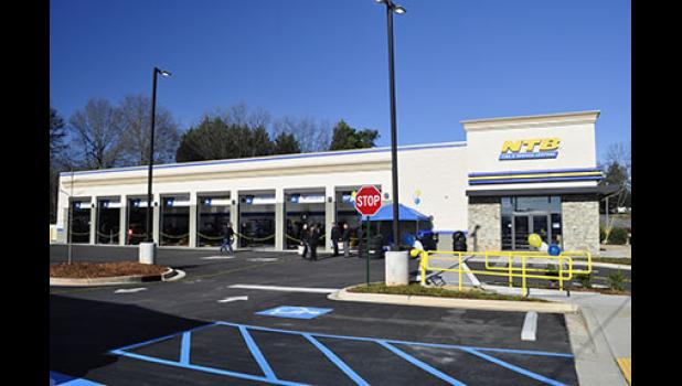 NTB Tire & Service Center celebrated the opening of its new Greer location last month.