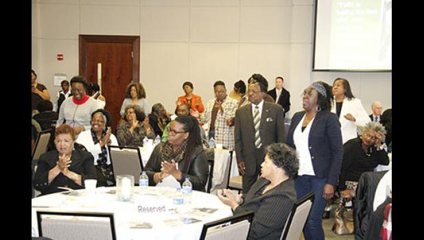 The 16th annual Martin Luther King Jr. Celebration Luncheon at Greer City Hall featured singing and performances.