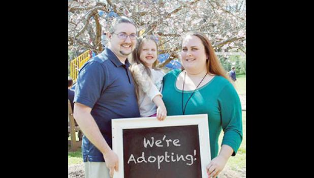 Ben, Rain and Ashley Remick are ready to adopt another child into their family.