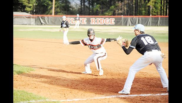 The Blue Ridge baseball team fell to Wade Hampton, but topped Christ Church last week.
