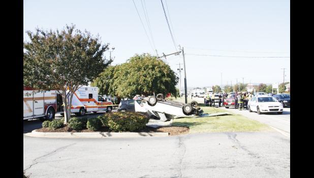 The fatal crash off Wade Hampton Boulevard took the life of a Taylors man Monday morning. The victim, Dayquan Nesbitt, was 21.