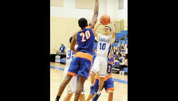 The Eastside boys basketball team knocked off Midland Valley and South Pointe last week on its way to the third round of the state playoffs.