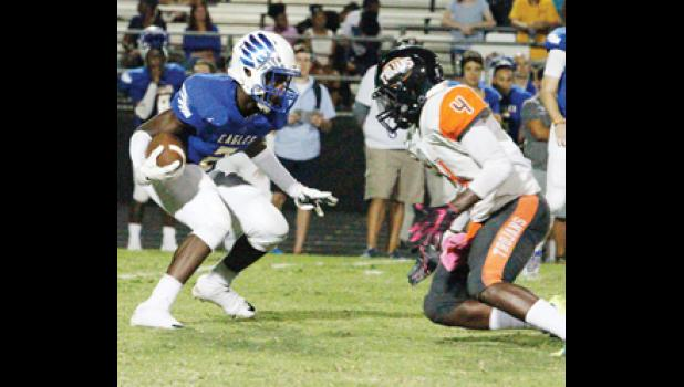 Eastside had very little trouble disposing of Carolina Academy last week, coming away with a 70-0 victory.