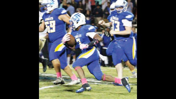 Chance Pride and Eastside will host Blue Ridge on Friday.