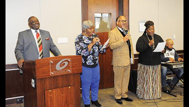 Wayne Griffin, left, heads up the city's annual Martin Luther King, Jr. luncheon.
