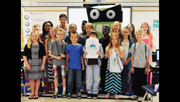 A group of Abner Creek third graders has completed the most math lessons in the nation using a computer software program titled 'Dreambox Learning.'