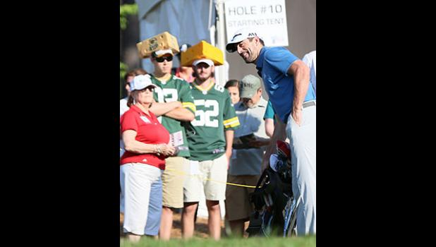 Aaron Rodgers will return to the Pro-Am course this week.