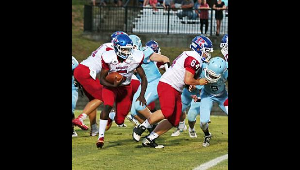Riverside could not keep up with Christ Church's offense last Friday during a 49-39 loss on the road.