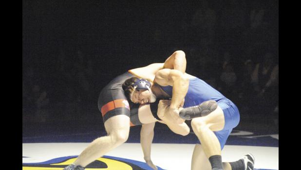 The Eastside wrestling team topped Blue Ridge 67-10 Monday night to capture its 25th consecutive region title.